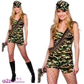Bootcamp Babe - Adult Costume