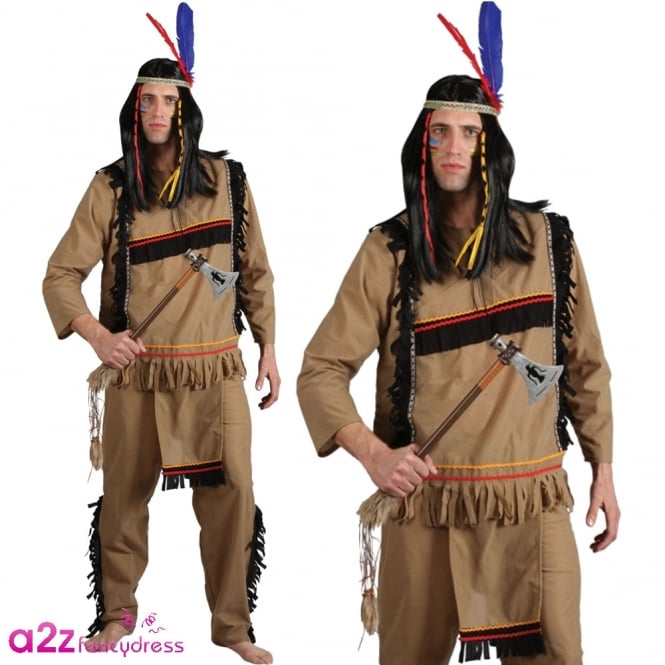 Brave Indian Warrior - Adult Costume