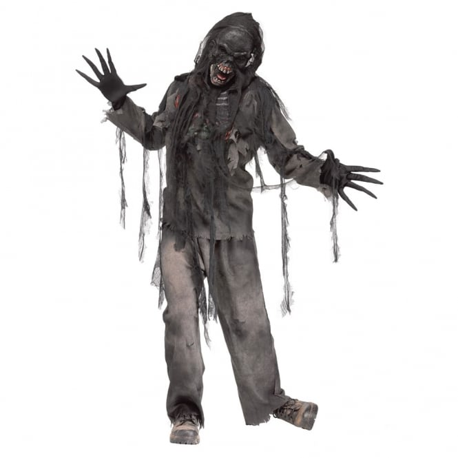 Burning Dead Zombie - Adult Costume