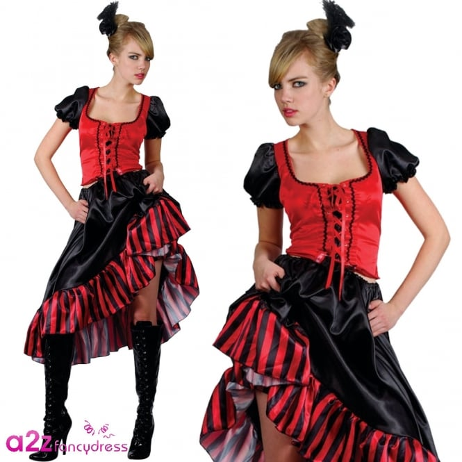 Can Can Saloon Girl - Adult Costume