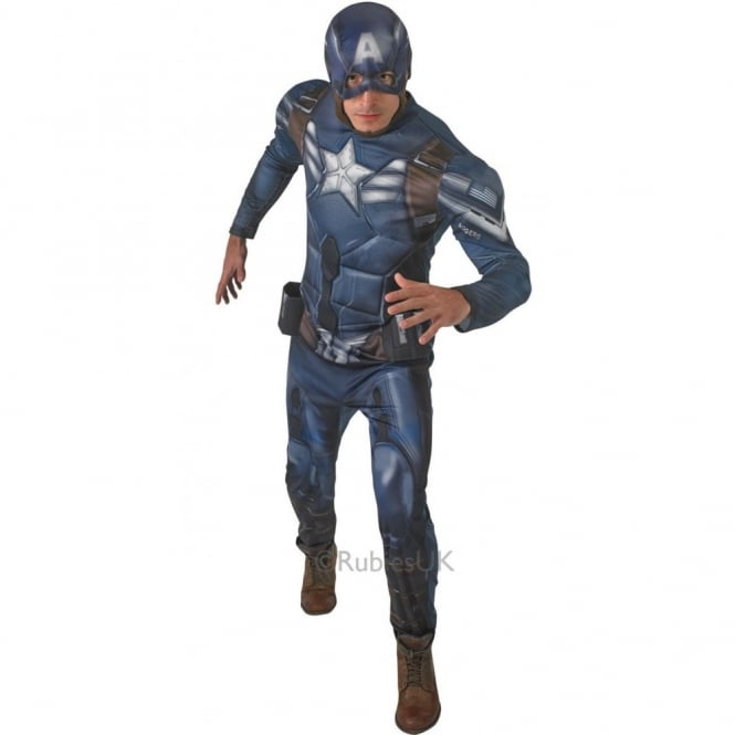AVENGERS - ASSEMBLE ~ Captain America™ 2 (Deluxe) - Adult Costume