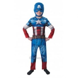 ~ Captain America Classic (NO SHIELD) - Kids Costume