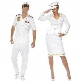 Captain & Officers's Mate - Couples Costumes