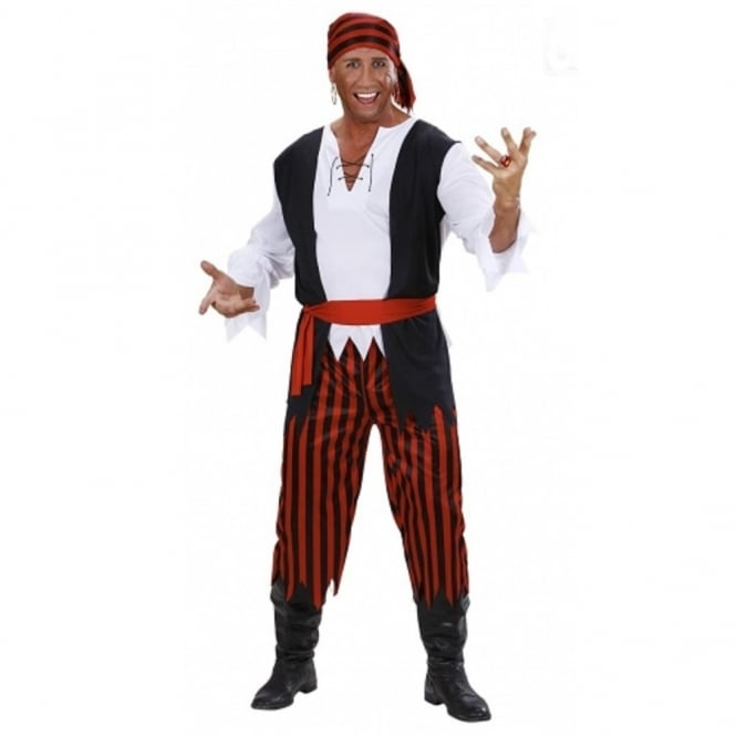 Caribbean Pirate - Adult Costume