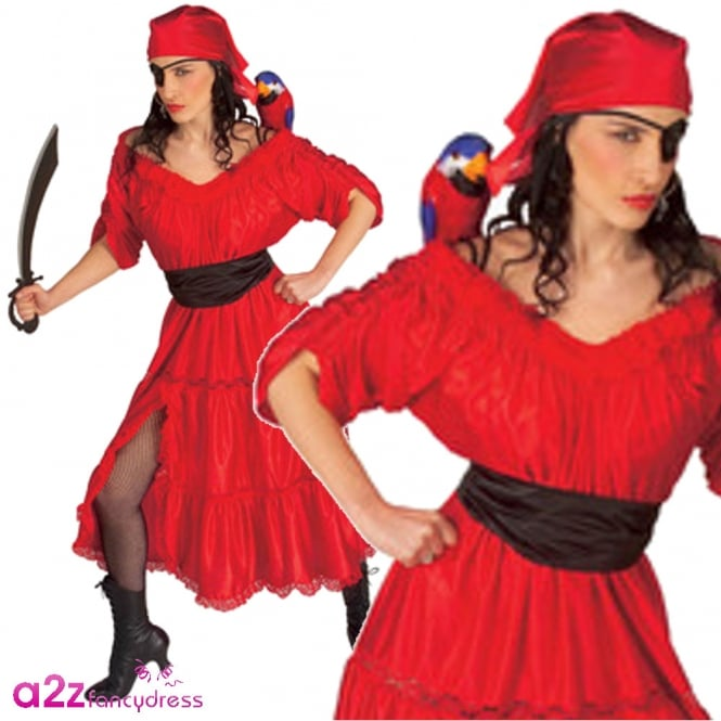Caribbean Wench - Adult Costume
