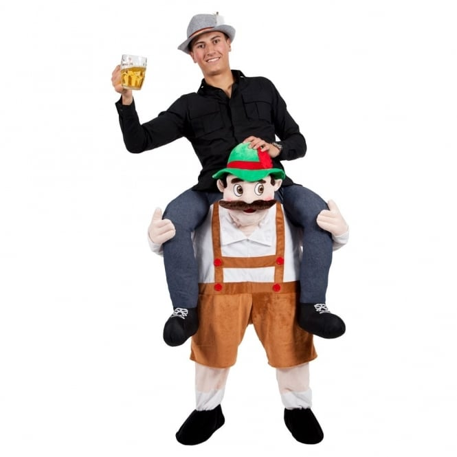 Carry Me Bavarian Beer Guy - Adult Costume