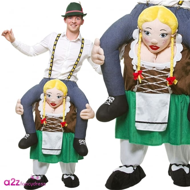 Carry Me Bavarian Girl - Adult Costume