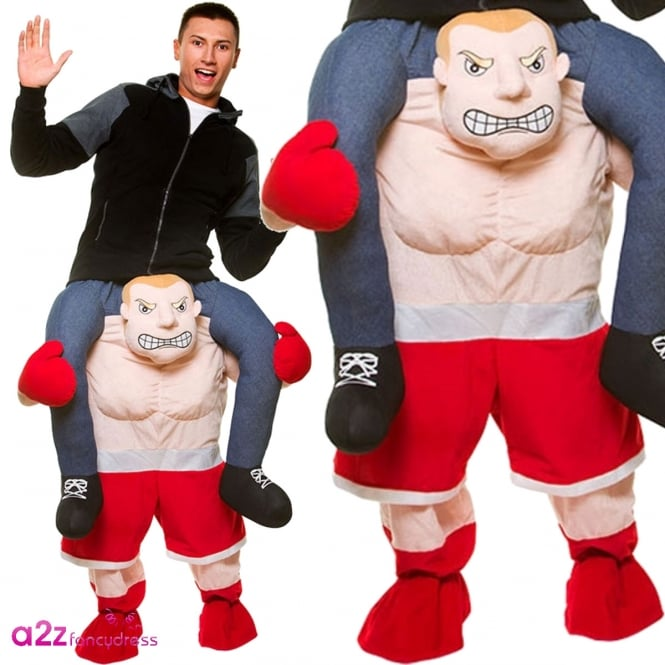 Carry Me Boxer - Adult Costume