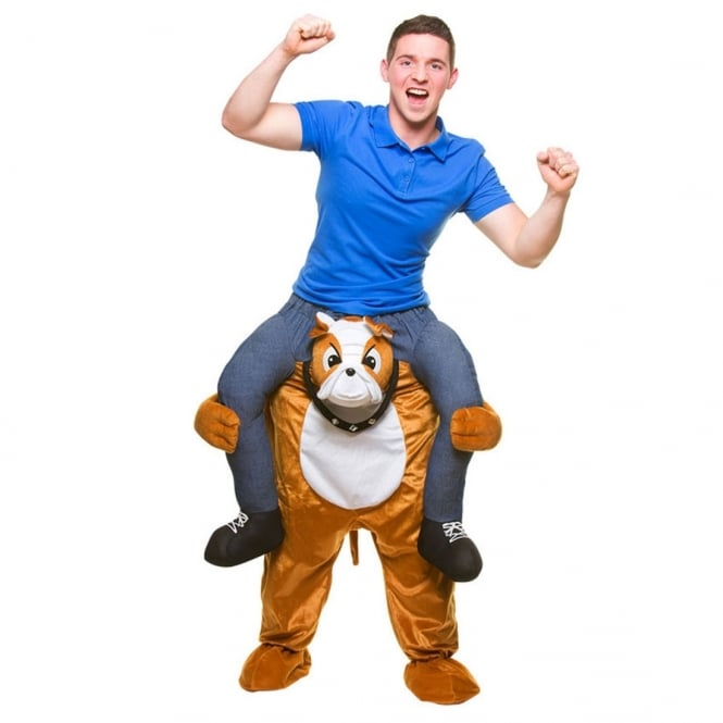 Carry Me Bulldog - Adult Costume