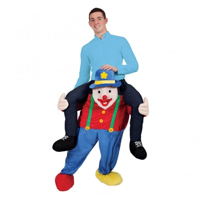 Carry Me Clown - Adult Costume