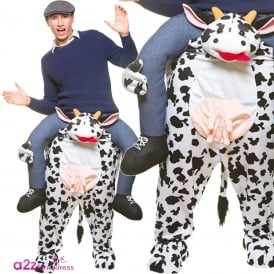 Carry Me Cow - Adult Costume