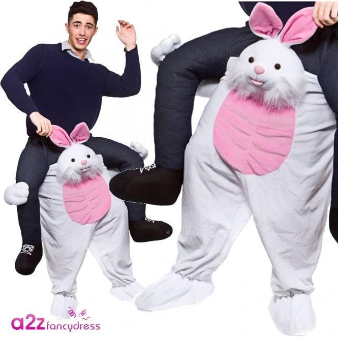 Carry Me Easter Bunny - Adult Costume