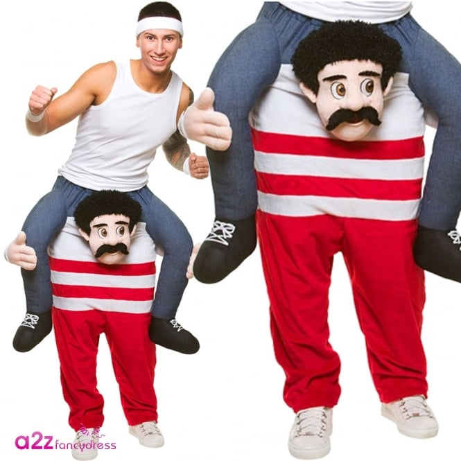 Carry Me Funny Athlete - Adult Costume