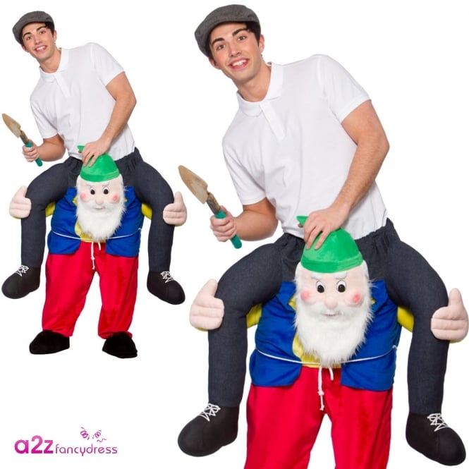 Carry Me Gnome - Adult Costume