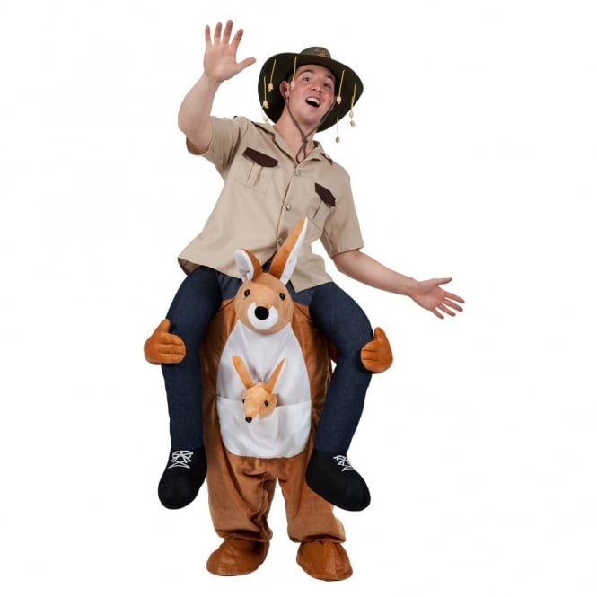 Carry Me Kangaroo - Adult Costume