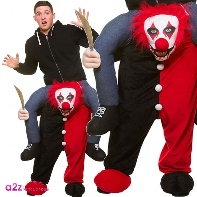 Carry Me Killer Clown - Adult Costume
