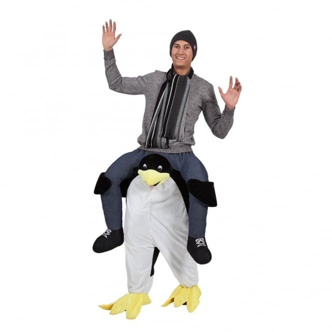 Carry Me Penguin - Adult Costume