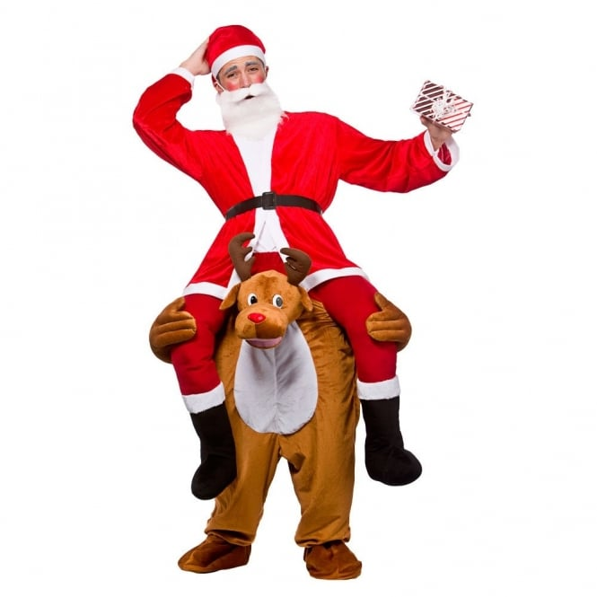 Carry Me Reindeer - Adult Costume