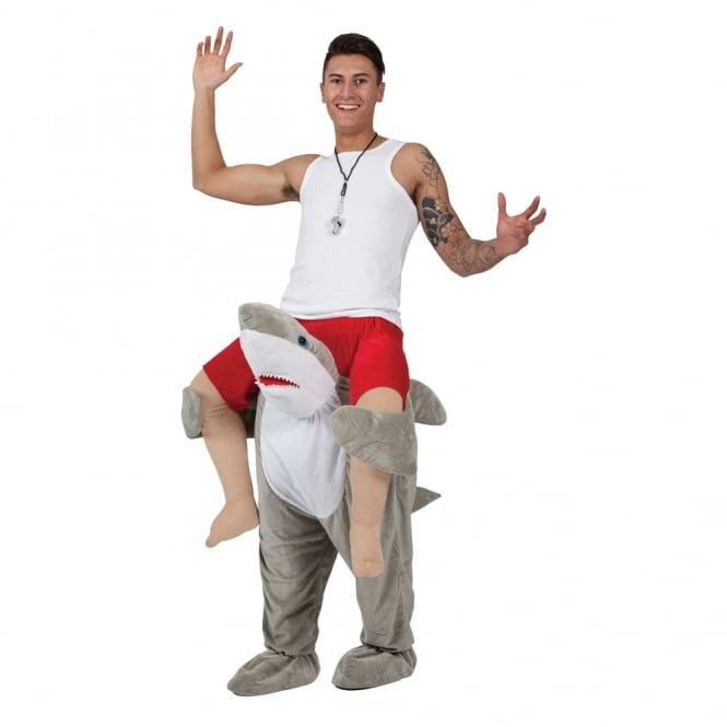 Carry Me Shark - Adult Costume