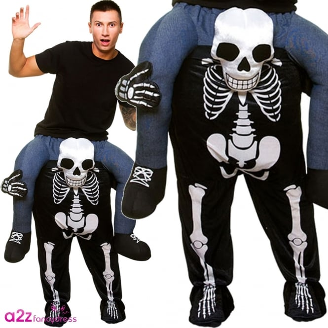 Carry Me Skeleton - Adult Costume