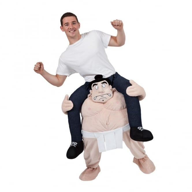 Carry Me Sumo Wrestler - Adult Costume