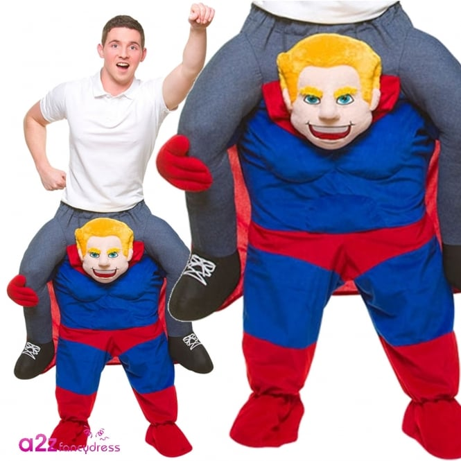 Carry Me Super Hero - Adult Costume