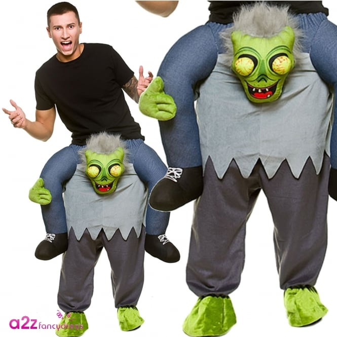 Carry Me Zombie - Adult Costume