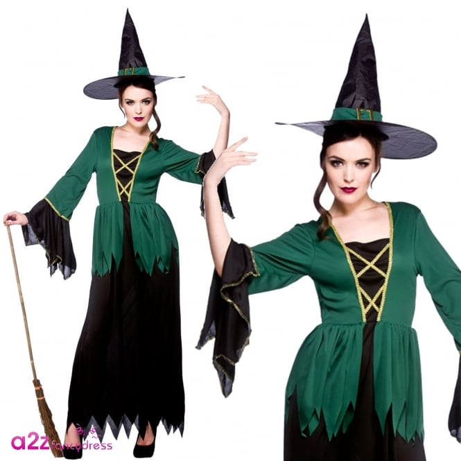 Cauldron Witch - Adult Costume