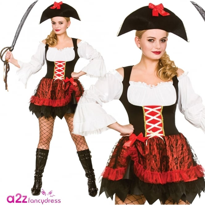 Charming Pirate - Adult Costume