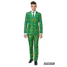 Christmas Trees Green - Adult Suitmeister