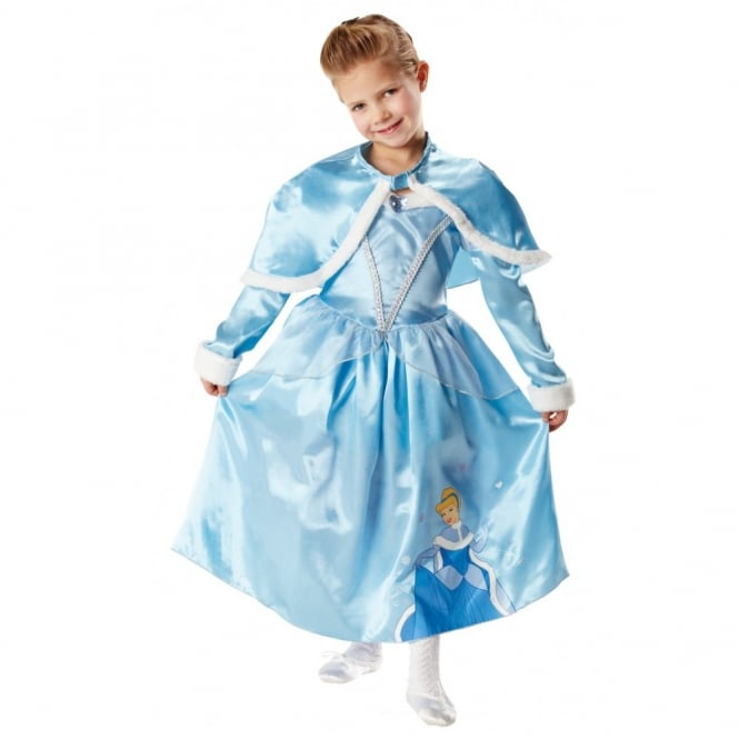 DISNEY PRINCESS ~ Cinderella Deluxe (Winter Wonderland) - Kids Costume - Kids Costumes from A2Z Fancy Dress UK  sc 1 st  a2z Fancy Dress & DISNEY PRINCESS ~ Cinderella Deluxe (Winter Wonderland) - Kids ...