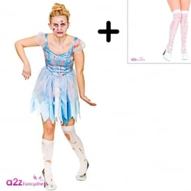Cinders After Dark - Adult Costume Set (Costume, Pull-Ups)