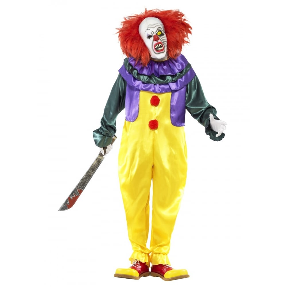 Classic Horror Clown - Adult Costume  sc 1 st  a2z Fancy Dress & Classic Horror Clown - Adult Costume - Mens Costumes from A2Z Fancy ...