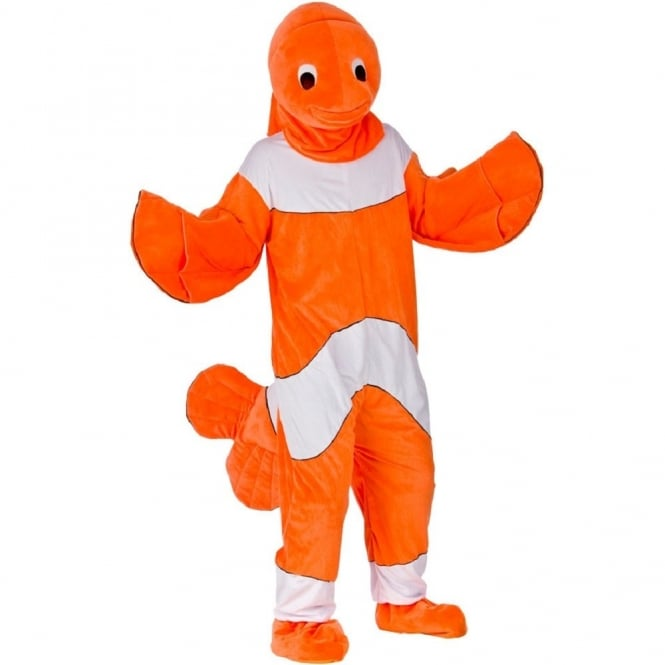 Clown Fish Mascot - Adult Costume