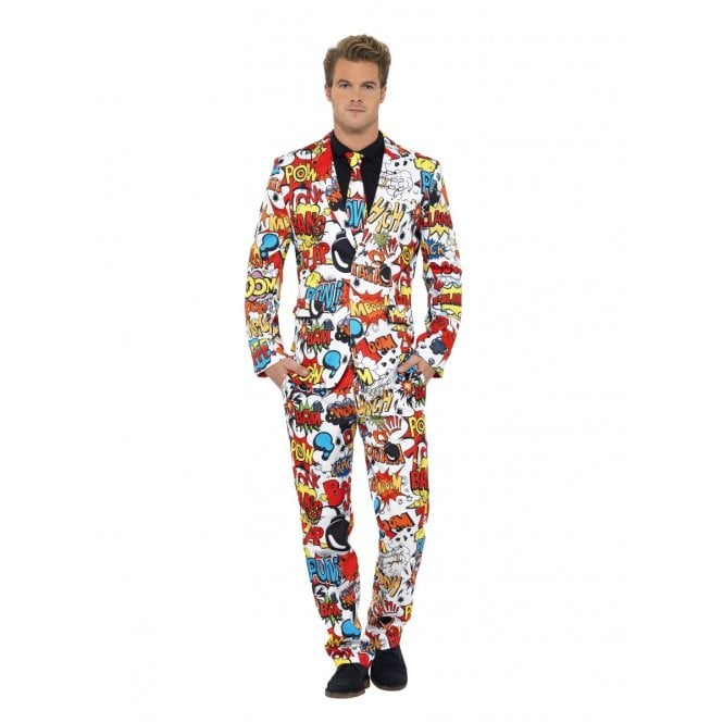 Comic Strip Suit - Adult Costume