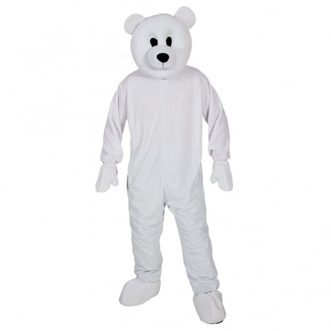Cool Polar Bear Mascot - Adult Costume