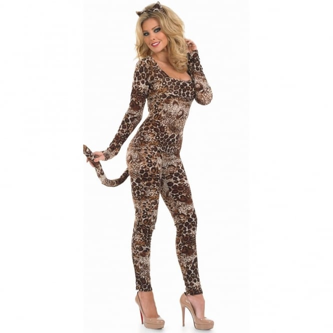 Cougar Catsuit - Adult Costume