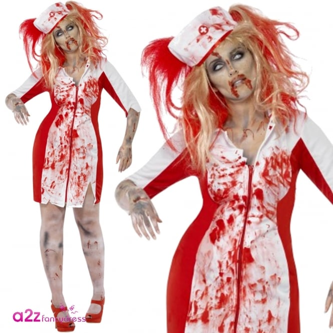 Curves Zombie Nurse - Adult Costume