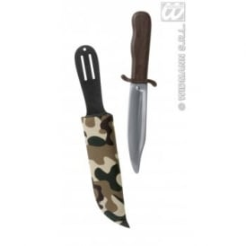 Dagger With Camouflage Scabbard - Accessory