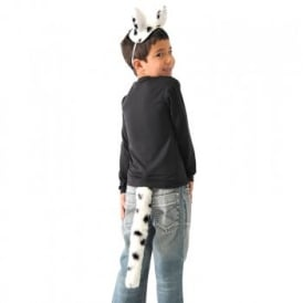 Dalmatian Top & Tail - Kids Accessory Set