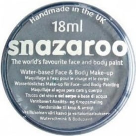 Dark Grey Face And Body Paint (Snazaroo™) - Accessory