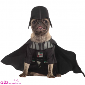 Darth Vader Dog Costume - Pet Accessory