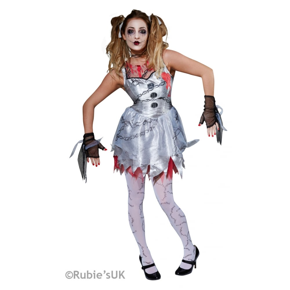 dead doll adult costume