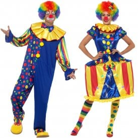 Deluxe Clown - Couples Costumes