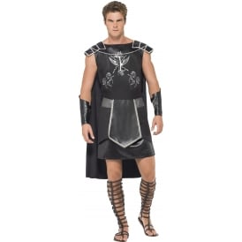 Deluxe Dark Gladiator - Adult Costume