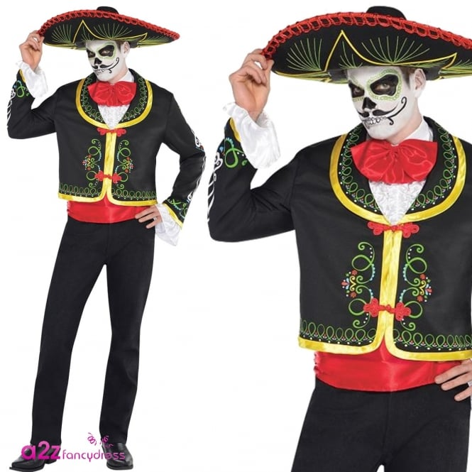 Deluxe Day of the Dead Senor - Adult Costume