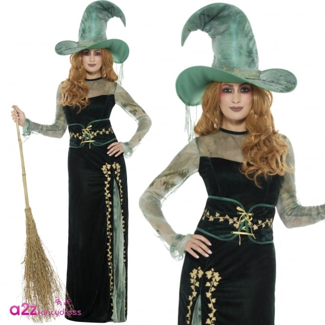 Deluxe Emerald Witch - Adult Costume