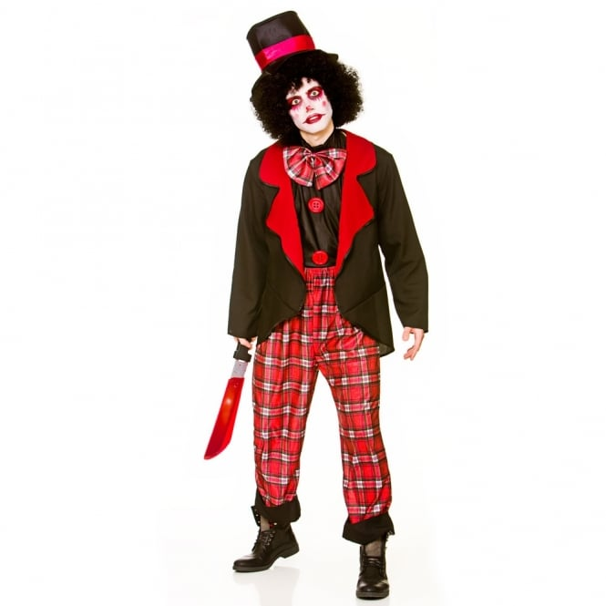 Deluxe Freaky Clown - Mens Costume