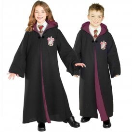 ~ Deluxe Harry Potter or Hermione Granger Gryffindor Robe - Kids Accessory