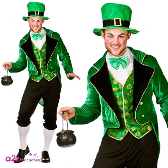 Deluxe Leprechaun - Adult Costume